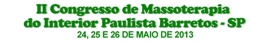 2º Congresso de Massoterapia do Interior Paulista