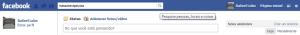 Fazendo a busca no Facebook