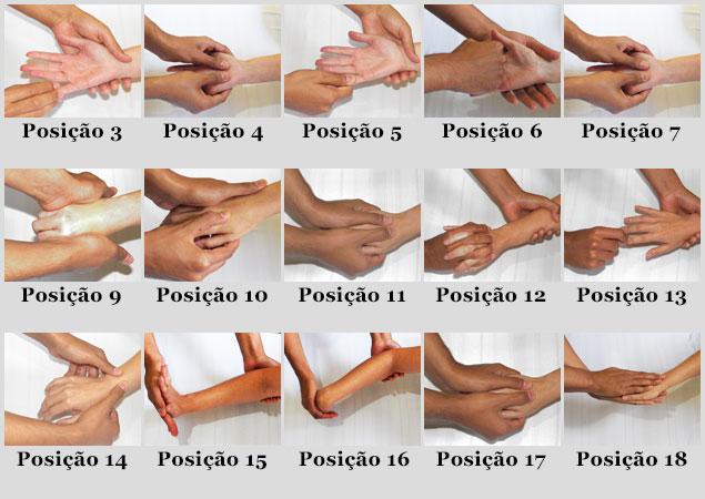 Como fazer massagem nas mãos