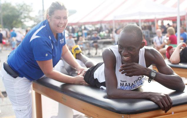 O que é massagem desportiva?